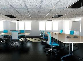 Infrarood-verwarming voor kantoren