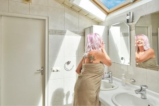 Infrarood-verwarming in je badkamer