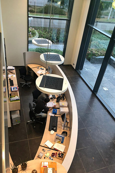 infraroodverwarming kantoren