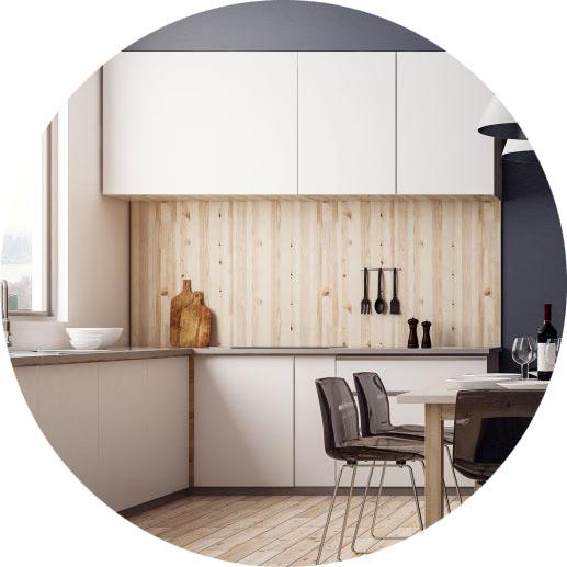 infraroodverwarming in kantine en kantoorruimte