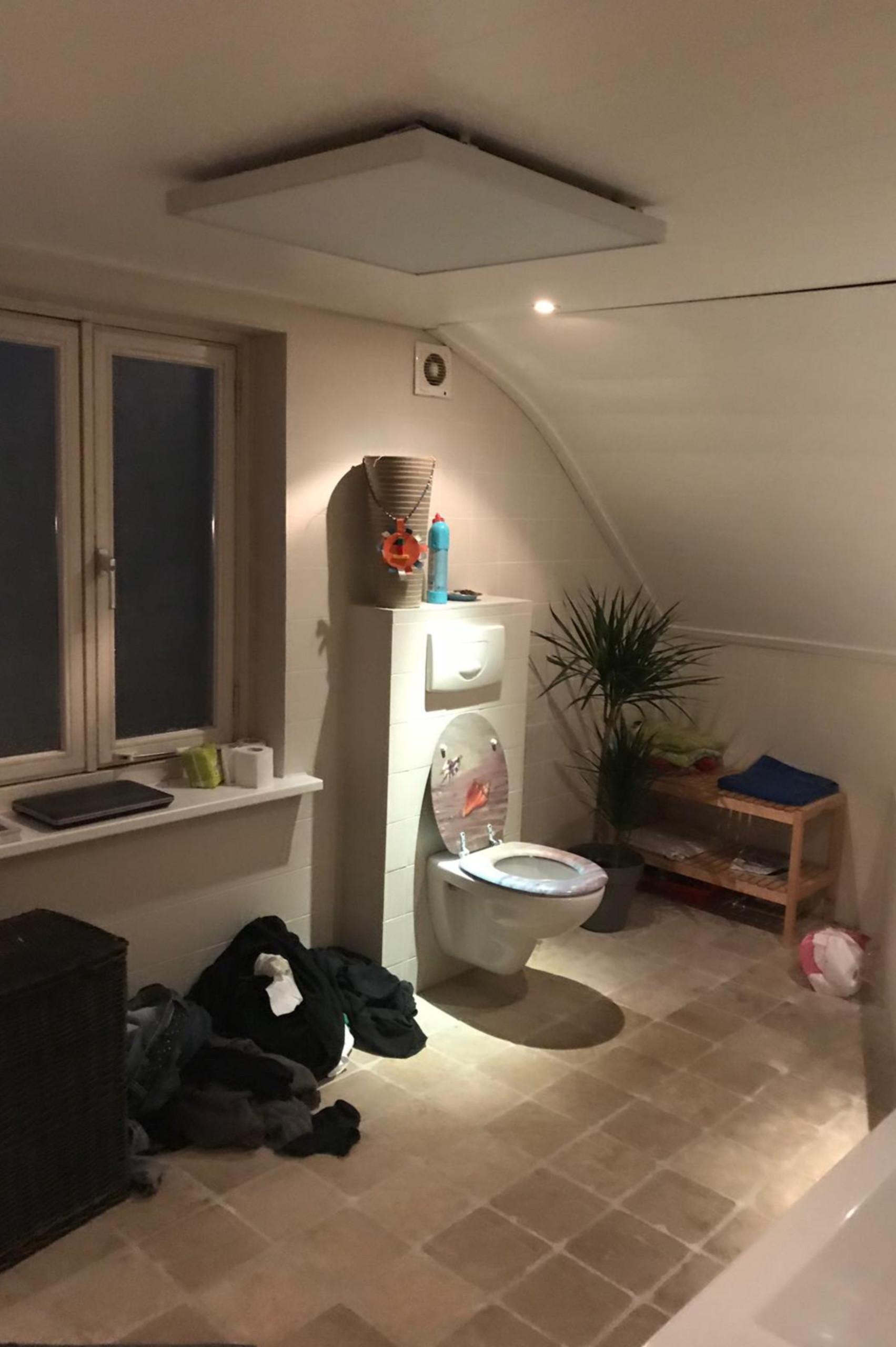 Infrarood verwarming in de badkamer