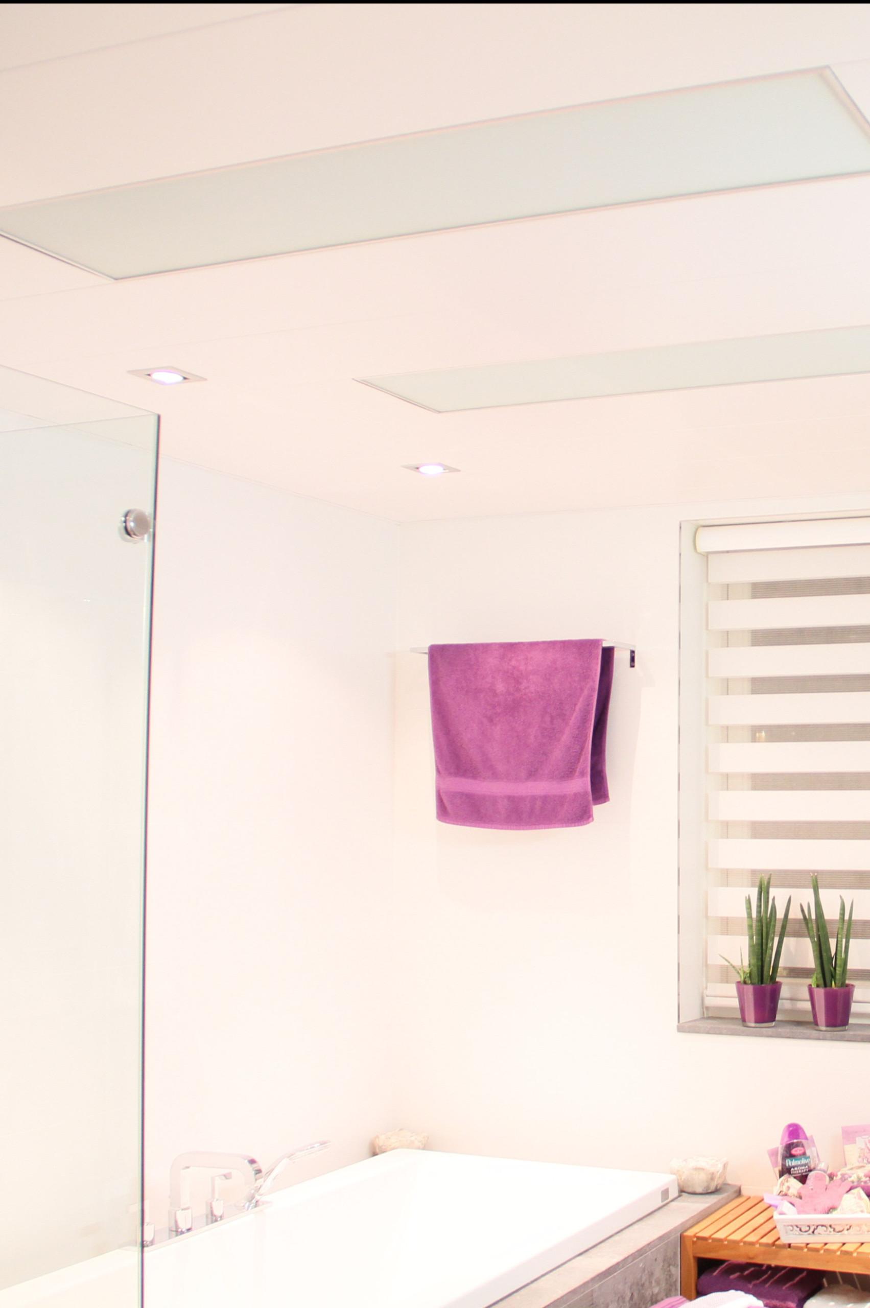 IR panelen in de badkamer